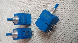 10pcs Vintage Bourns Dual Potentiometer 100k 100k Ohm Linear Nos