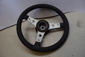 Luisi Retro Vintage 3 Spokes Steering Wheel 340mm Fiat