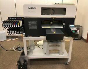 Brother Gt 381 Series Direct To Garment Printer Used