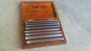 Starrett Inspection Paralell Set No 384