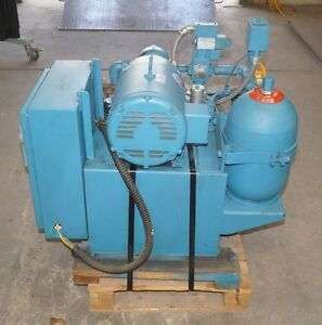 Vickers Double A Model T 20 p H5 p 10b1 Hydraulic Pumping System 7 5 Hp