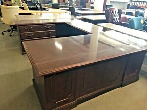 Traditional Style Executive U shape Desk By Miller Office Furniture