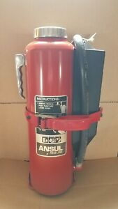 Ansul Red Line 20lb Abc Dry Chemical Fire Extinguisher And Bracket