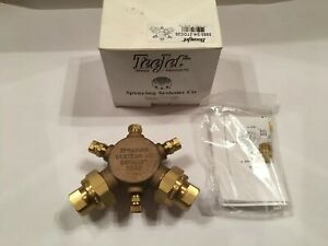 5880 3 4 2toc20 Teejet Extra Wide Flat Spray Boomjet Boomless Nozzle New