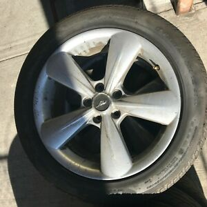 Ford Mustang Gt 2013 2014 Set Of 4 Oem 18 Wheels Set 4 Silver 3907 Dr331007ca