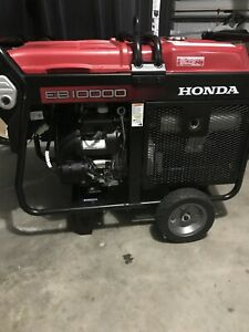 Honda Eb10000 Generator 10 Kw New Never Used 0hr On It