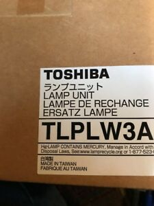Toshiba Tlplw3a Lamp Unit new In Box