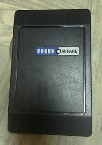 Hid Mifare Reader 6055bkl0000 used