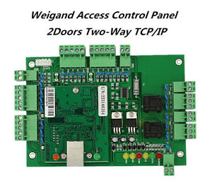 Webserver Tcp ip Two Doors Wiegand Access Control Board With Free Software