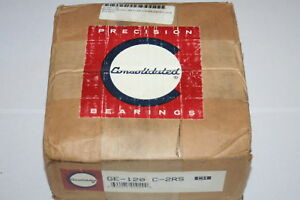 Consolidated Spherical Roller Bearing Ge 120 c 2rs New
