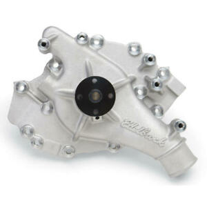 Edelbrock Water Pump 8866 High Volume Satin Aluminum For Ford 429 460 Bbf