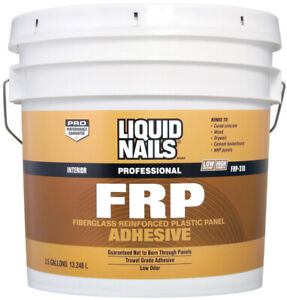 Liquid Nails Frp Adhesive Concrete Wood Drywall Boxed 3 5 Gl