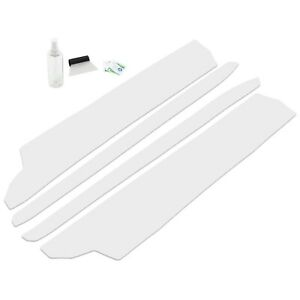 Fits Ford Mustang 2015 2019 4pc 2 Door Invisible Door Sill Guards Clear Set