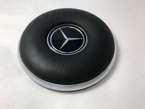 Used Early Style Black Steering Wheel Horn Pad Fits Mercedes W110 W111 W112 W113