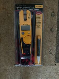 New Fluke t5 h5 1ac Kit Voltage Continuity Current Tester Kit W Holster