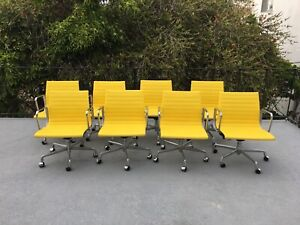Herman Miller Eames Ea335 Aluminum Group Management Chairs 8 Available