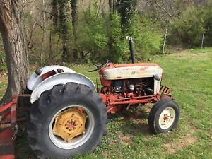 Ford 801 Powermaster Tractor 1961 With Brush Hog