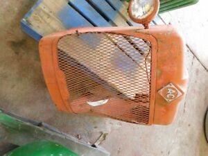 Allis chalmers D14 Tractor Front Grill Top Center Hood Panel Tag 779