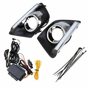 2x Led Drl Daytime Running Light For Ford Ecosport Car Led Lamp Drl 2013 2016