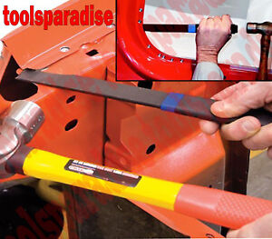 Auto Body Panel Separating Knife Sheet Metal Chisel Wedge Spot Weld Cutter Tool