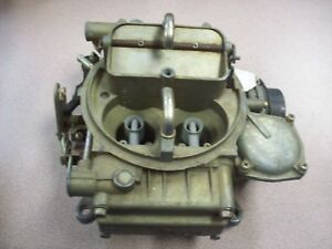 Holley Carburetor 6r7072 B Ford Tag Motorcraft 4 Barrel