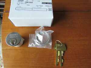 New Sargent Assa Abloy 41 97 32d Mortise Cylinder Lock W 2 Keys 6 Pin 1 1 8
