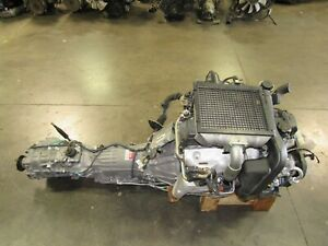Jdm Toyota 1kz Turbo Diesel Engine Automatic Transmission 4x4 Intercooler 1kz Te