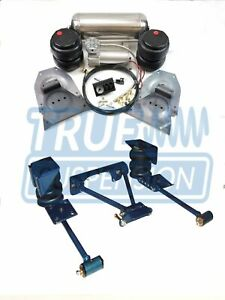 Complete 1973 1991 C20 C30 Pickup Air Ride Suspension Lowering System Bolt On