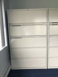 Hon 5 Drawer Lateral File Cabinet 42 X 64
