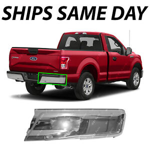 New Chrome Steel Right Rh Rear Bumper End For 2015 2018 Ford F150 W O Park 15 18