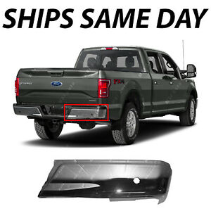 New Chrome Right Rh Rear Bumper End Cover For 2015 2020 Ford F150 W Park 15 20