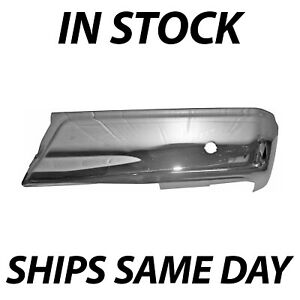 New Chrome Right Rh Rear Bumper End Cover For 2015 2018 Ford F150 W Park 15 18