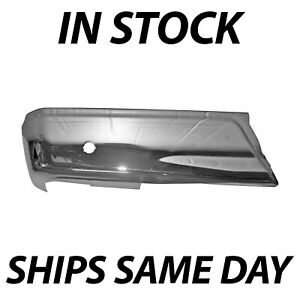 New Chrome Left Lh Rear Bumper End Cover For 2015 2019 Ford F150 W Park 15 19