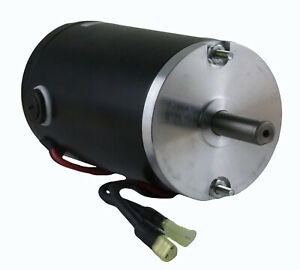 New Salt Spreader Motor Fit Fisher Poly Caster 78299 P3035 P3035a P3035am P3035k