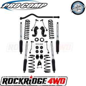 Pro Comp 4 Inch Stage I Lift Kit W Twin Tube Shocks 18 Jeep Wrangler Jlu 4door