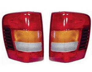 New Pair Of Tail Lights Fits Jeep Grand Cherokee 2002 2004 Ch2800150 55155138aj