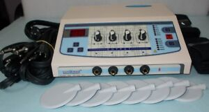 Brand New Electrotherapy Continuous Pulse Therapy Unit Physiotherapy Machine