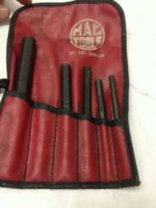 Mac Tools Punch Set 5pc Smp10 Smp6 Smp5 Smp4 Smp3 3 32 To 5 16 W Pouch