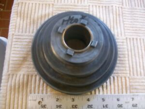 Heavy Alloy 4 Step Headstock Pulley 10 790 From Vintage Atlas 10 Metal Lathe