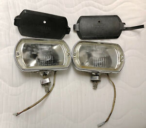 Lucas Vintage Chromeaccessory Fog Driving Lights Shelby Ferrarri Jaguar Mercedes