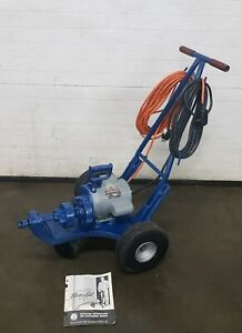 Electric Eel Model C Drain Sewer Cleaning Machine