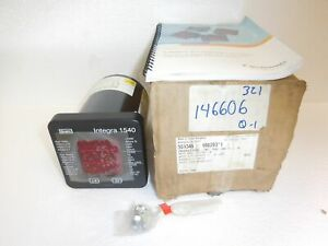 Tyco Crompton Integra 1540 Digital Power Quality Monitor 480v 4 wire Rs485 New