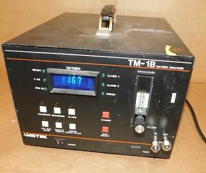 Ametek Tm 1b Oxygen Analyzer Manual Used