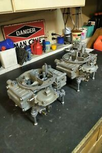 Holley 600 Cfm Tunnel Ram Carburetors