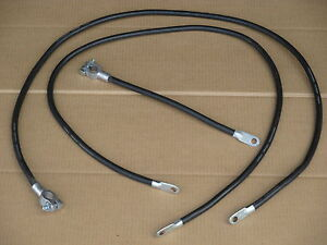 Battery Cable Set For Ih International 154 Cub Lo boy 184 185