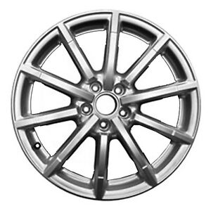 Reconditioned Oem 18x8 Alloy Wheel Painted Silver 560 58949