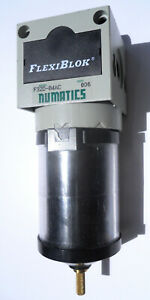 Numatics F32d 04ac Filter With Auto Drain New