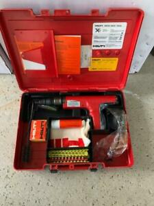 Hilti Dx350 Powder Actuated Drive Nail Gun W case Brand New Old Model