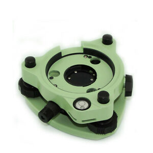 New Green Three jaw Tribrach With Optical Plummet For Prism Total Stations
