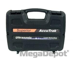 Accutrak Vpecc1 Small Hard Carrying Case For Ultrasonic Leak Detector